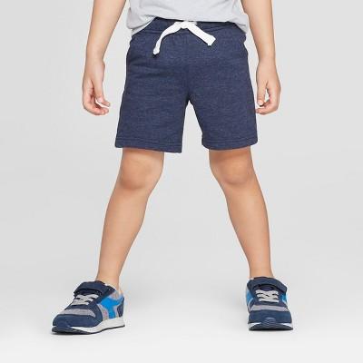 Toddler Boys' Knit Pull-On Shorts - Cat & Jack™ Navy 3T