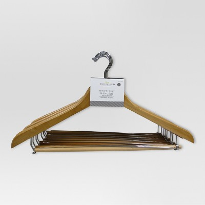 Closet Hangers - Maple - Threshold™