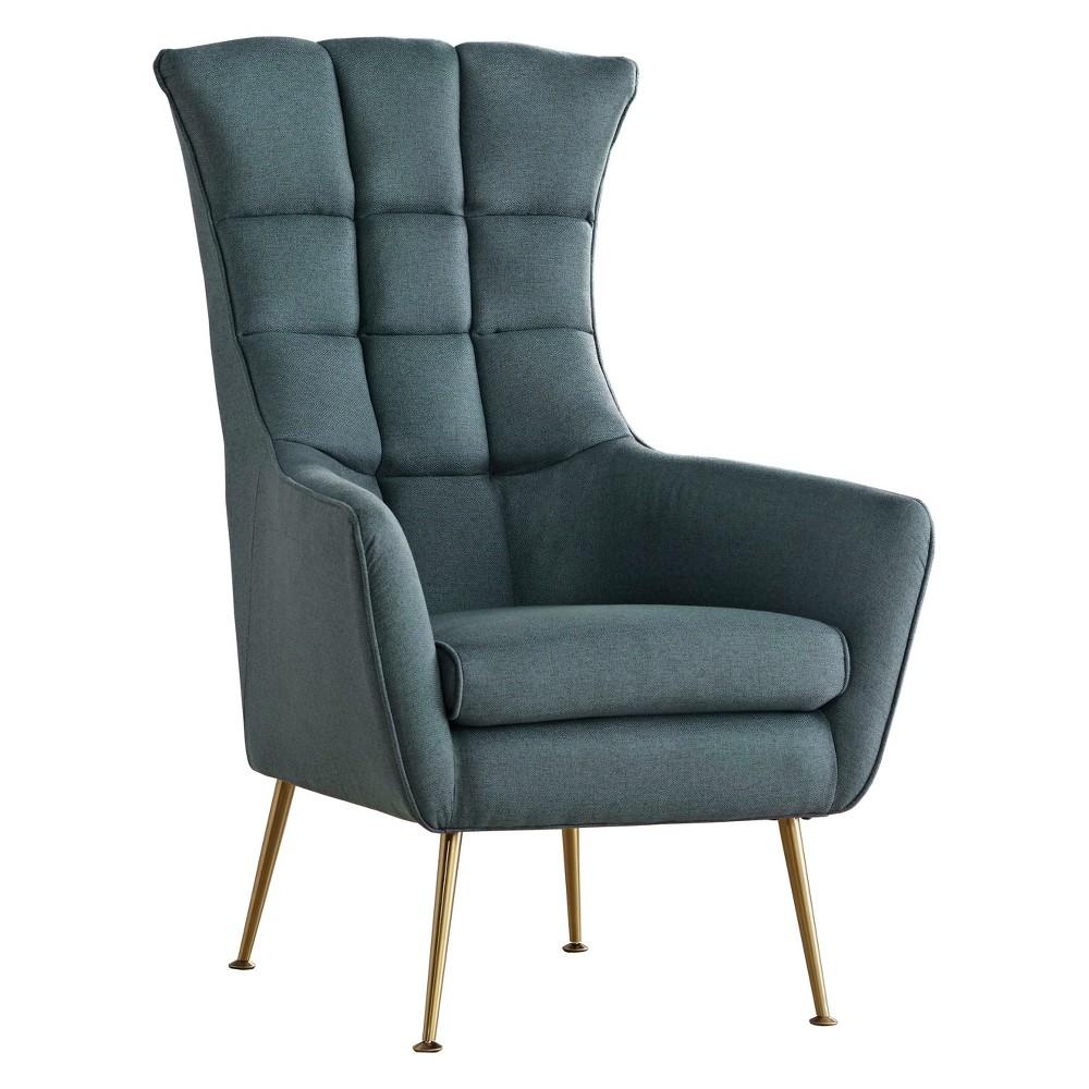 Image of Brandon Chair Teal - Lifestorey, Blue