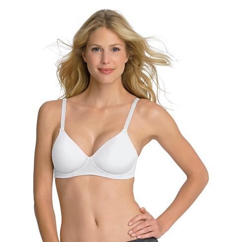 081322dfa0 Hanes® Women s Concealing Petals Wireless Bra G510 - White 40C   Target