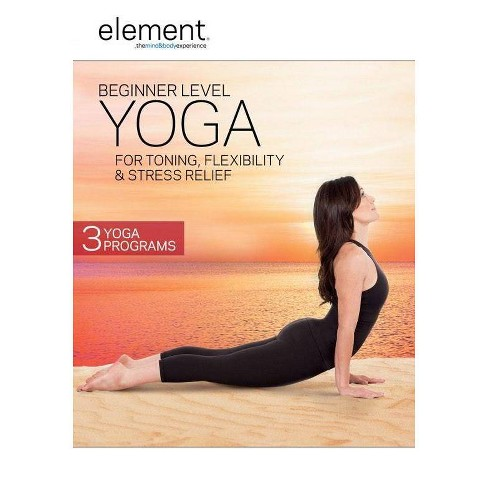 Element: Beginner Level Yoga for Toning Stress Relief & Flexibility (DVD)(2016) - image 1 of 1