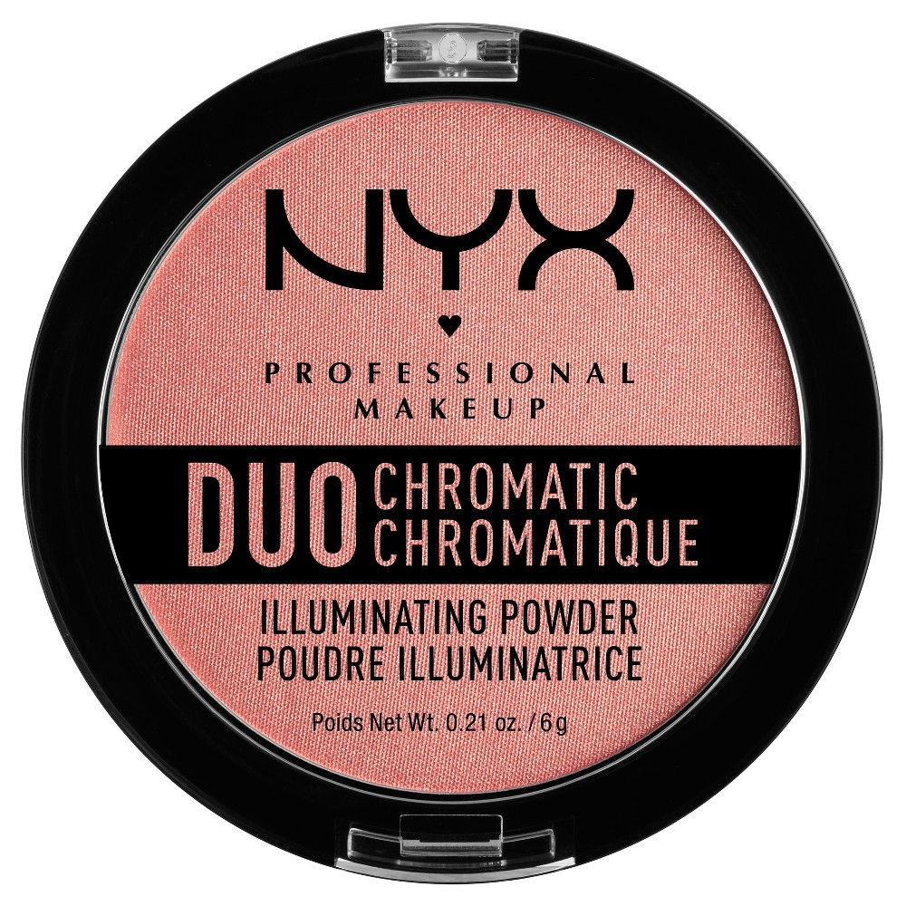 Nyx Professional Makeup Duo Chromatic Powder Crushed Bloom - 0.21oz
