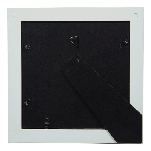 Single Image 8x8 Wide Double Mat White 5x5 Frame Gallery Solutions
