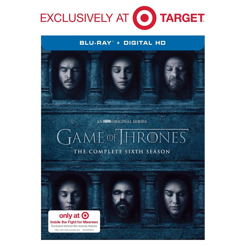 Game of Thrones: The Complete 6th Season -Target Exclusive (Blu-ray)