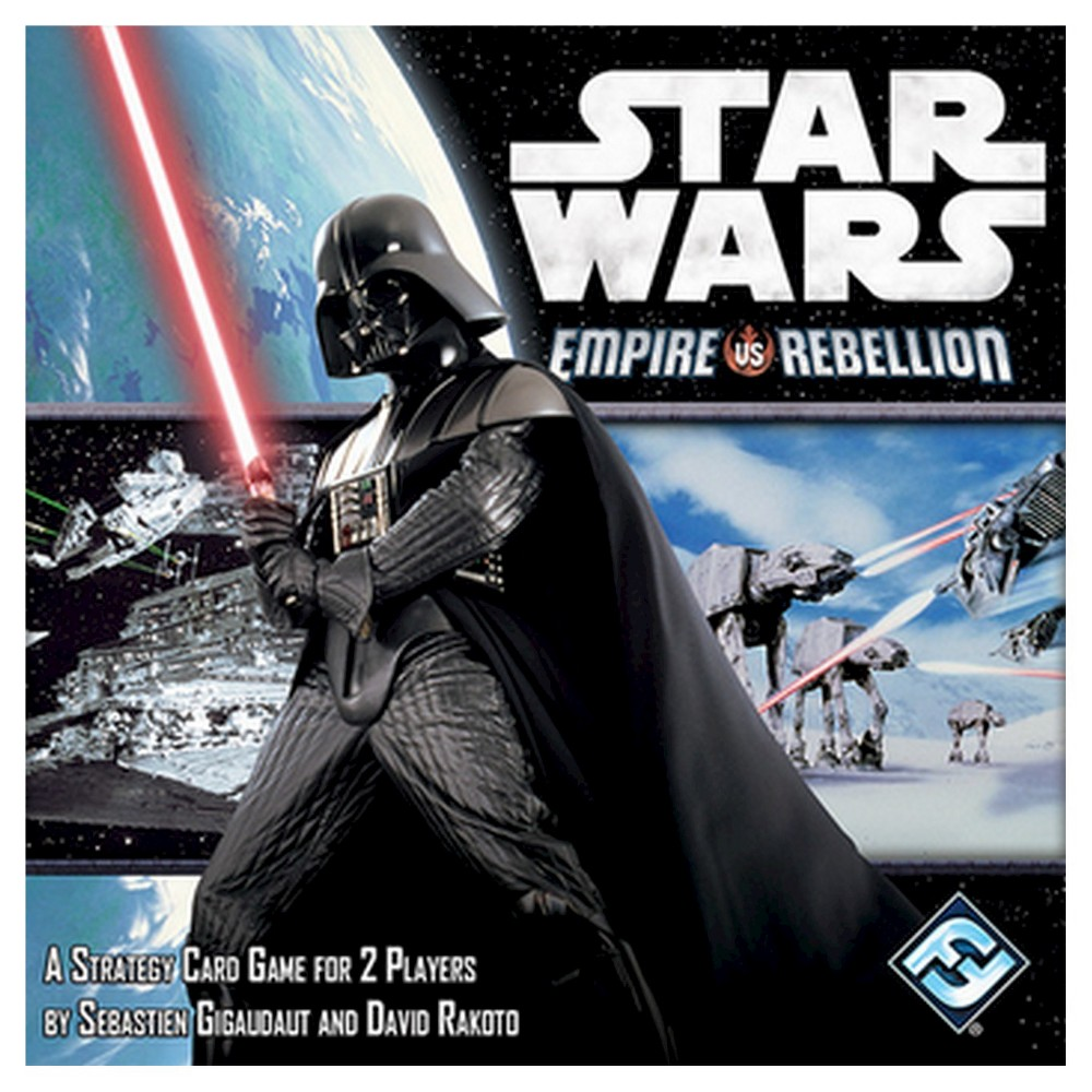 Star Wars Empire vs Rebellion Strategy Card Game
