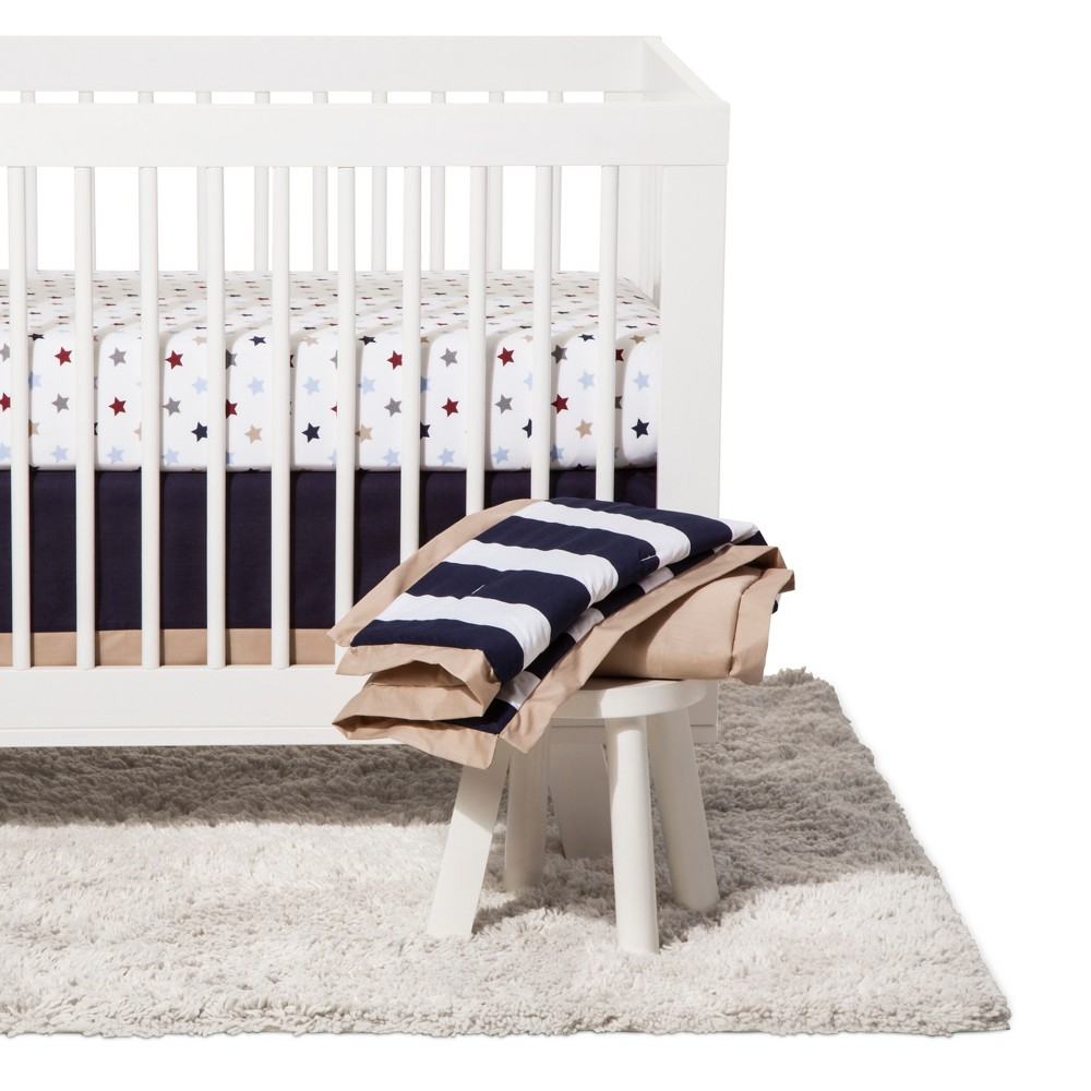 Sadie & Scout - Hampton - Crib Bedding Set, 3 pc set