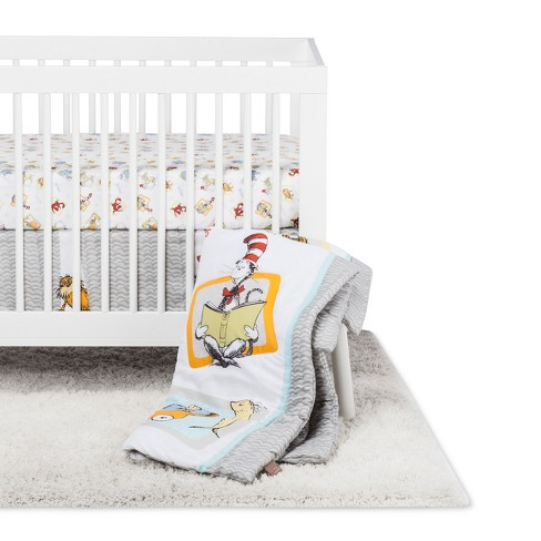 Dr Seuss By Trend Lab Crib Bedding Set, Dr Seuss Crib Bedding