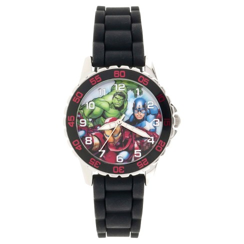 Kid's Avengers Watch - Black - image 1 of 1
