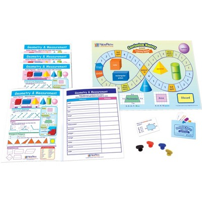 NewPath Learning Geometry and Measurement Learning Center Game, Grade 3 to 5