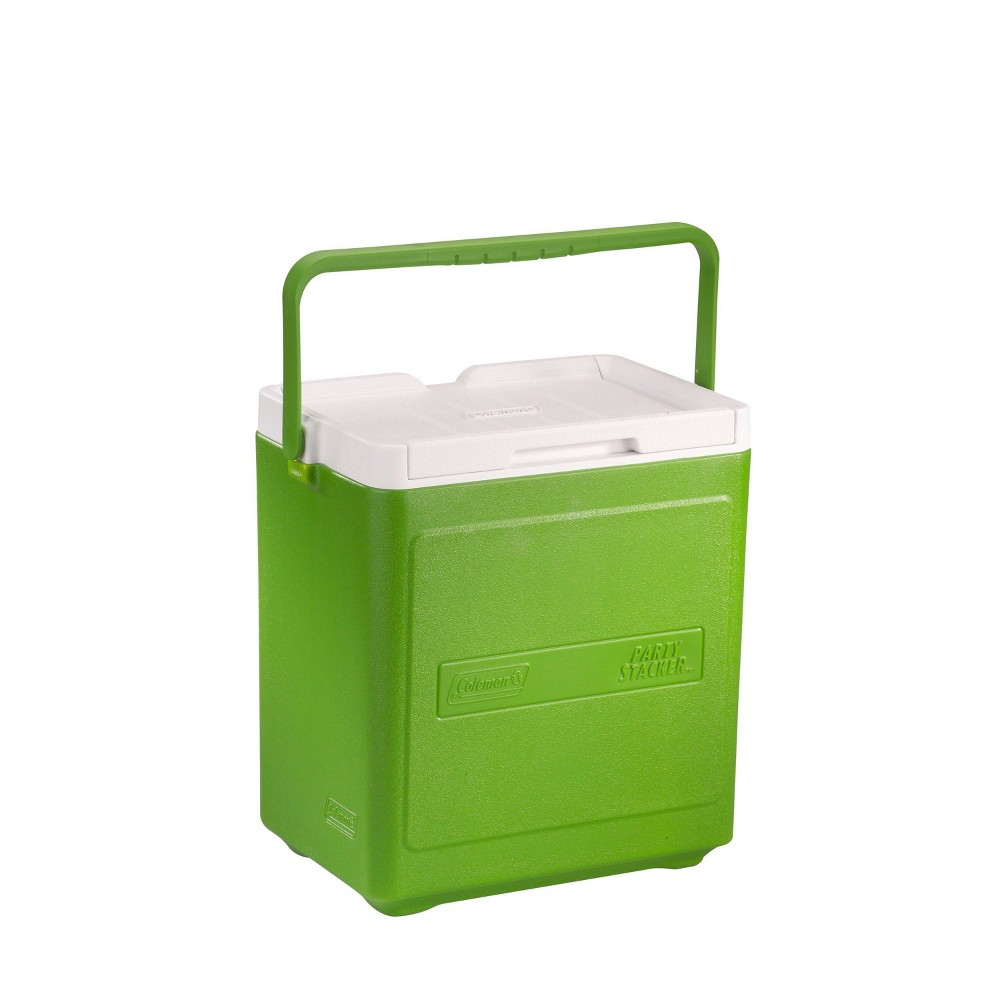 Image of Coleman 24-Can Party Stacker Portable Cooler - Green