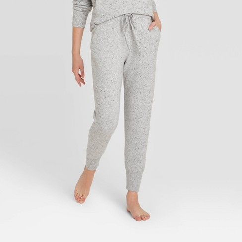 Women's Lounge Sweater Jogger Pants - Stars Above™ - image 1 of 2