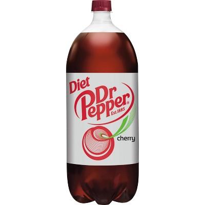 Diet Dr Pepper Cherry Soda - 2 L Bottle