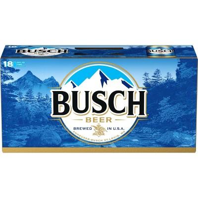 Busch Beer - 18pk/12 fl oz Cans