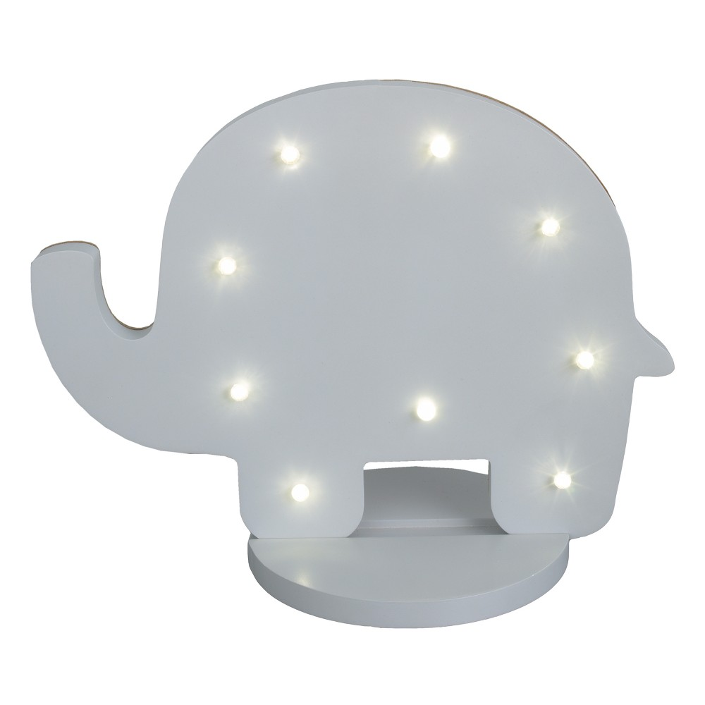 Image of Little Love by NoJo Light Décor - Elephant, Multi-Colored