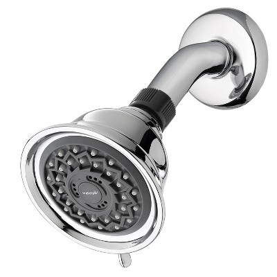 PowerSpray 3- Mode Fixed Mount Single Shower Head Chrome- Waterpik