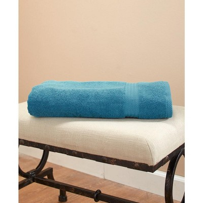 Lakeside Oversized Bath Towel With Zero Twist Cotton Design For Quick Drying : Target