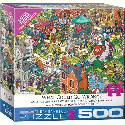 Eurographics Inc. What Could Go Wrong? by Martin Berry 500 Piece Jigsaw Puzzle
