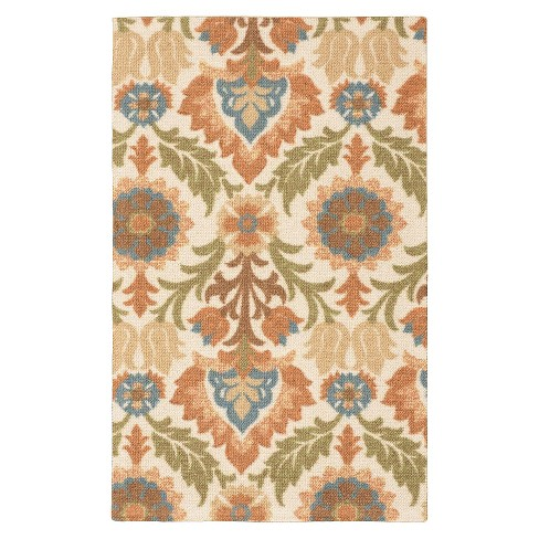 Block Print Rug - Waverly - image 1 of 4