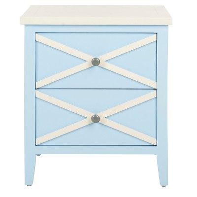 Side Table With Drawers - Safavieh