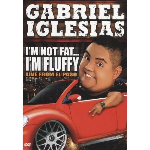 Gabriel Iglesias Im Not Fat Im Fluffy Dvdvideo Target