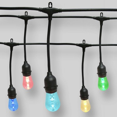 24ct Color Changing LED Shatterproof String Lights with Remote Clear - Smith & Hawken™