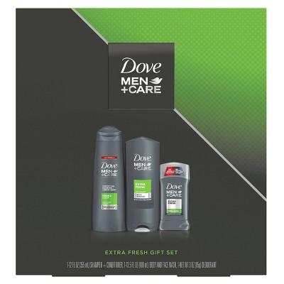 Dove Men + Care Fresh Bath And Body Set - 3pc