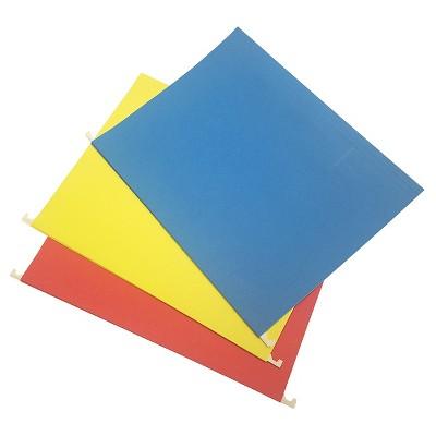 Hanging File Folders Letter Size 20ct Multicolor - Up&Up™