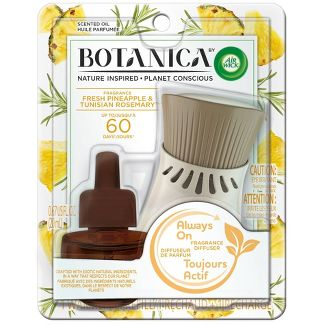 Botanica by Air Wick Scented Oil Kit Fresh Pineapple & Tunisian Rosemary