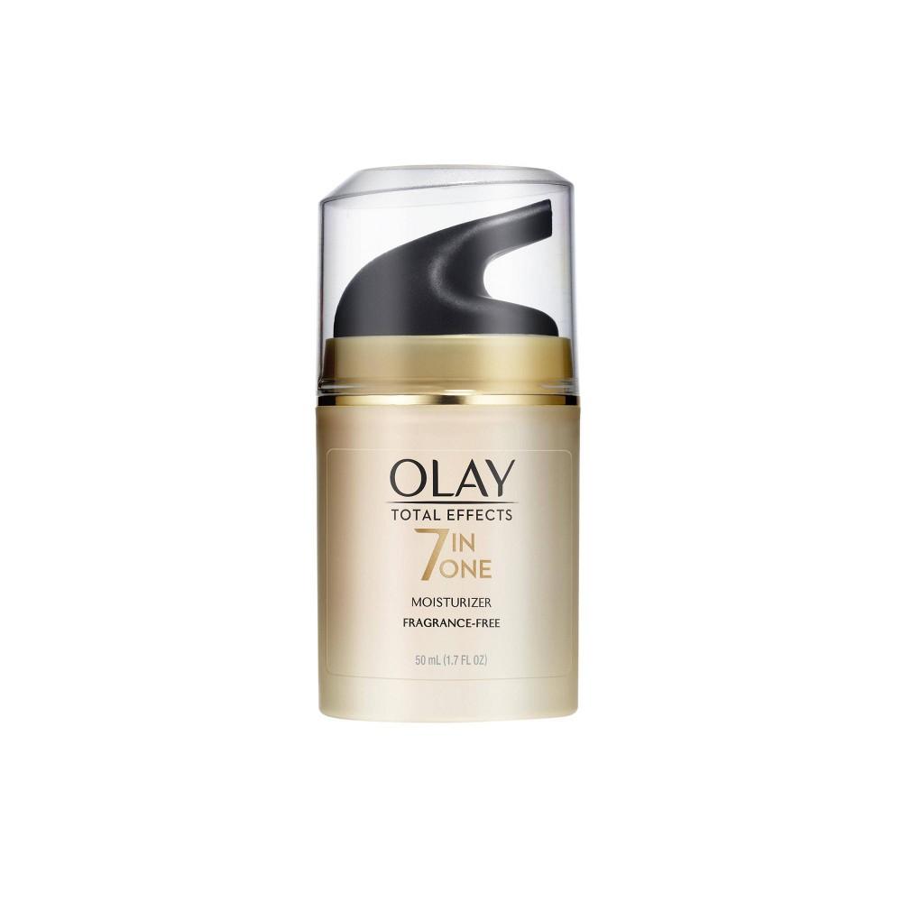 Olay Total Effects Face Moisturizer Fragrance Free 1 7 Fl Oz
