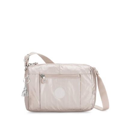Kipling Wes Metallic Crossbody Bag