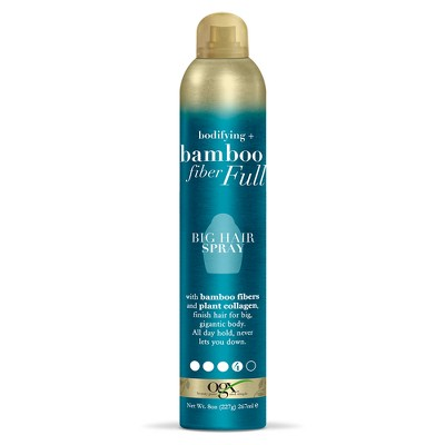 Hair Spray: OGX Bamboo Fiber Full Big Hair Spray