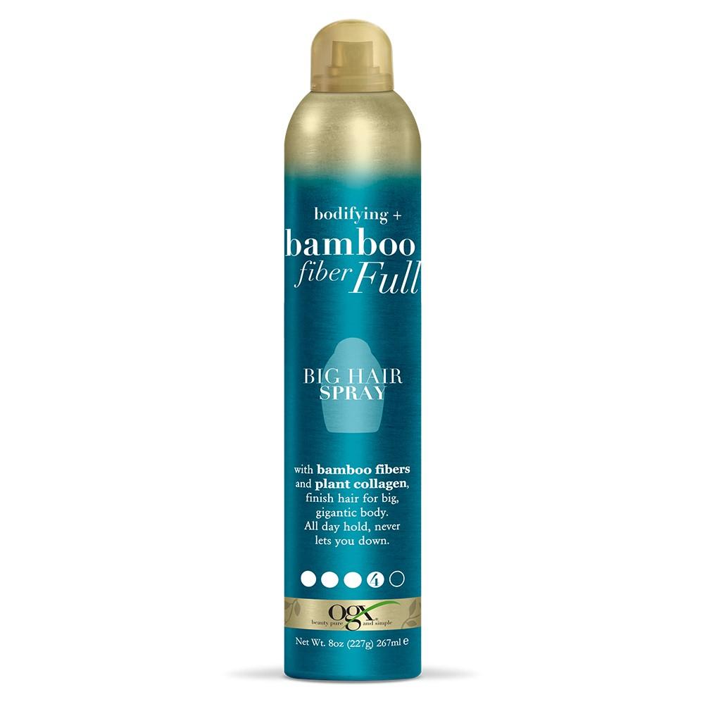 Image of OGX Bodifying + Fiber Full Big Hair Spray - 8oz