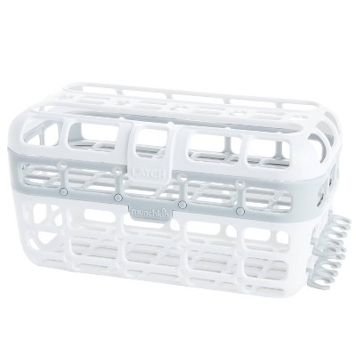 Munchkin High Capacity Dishwasher Basket - Gray