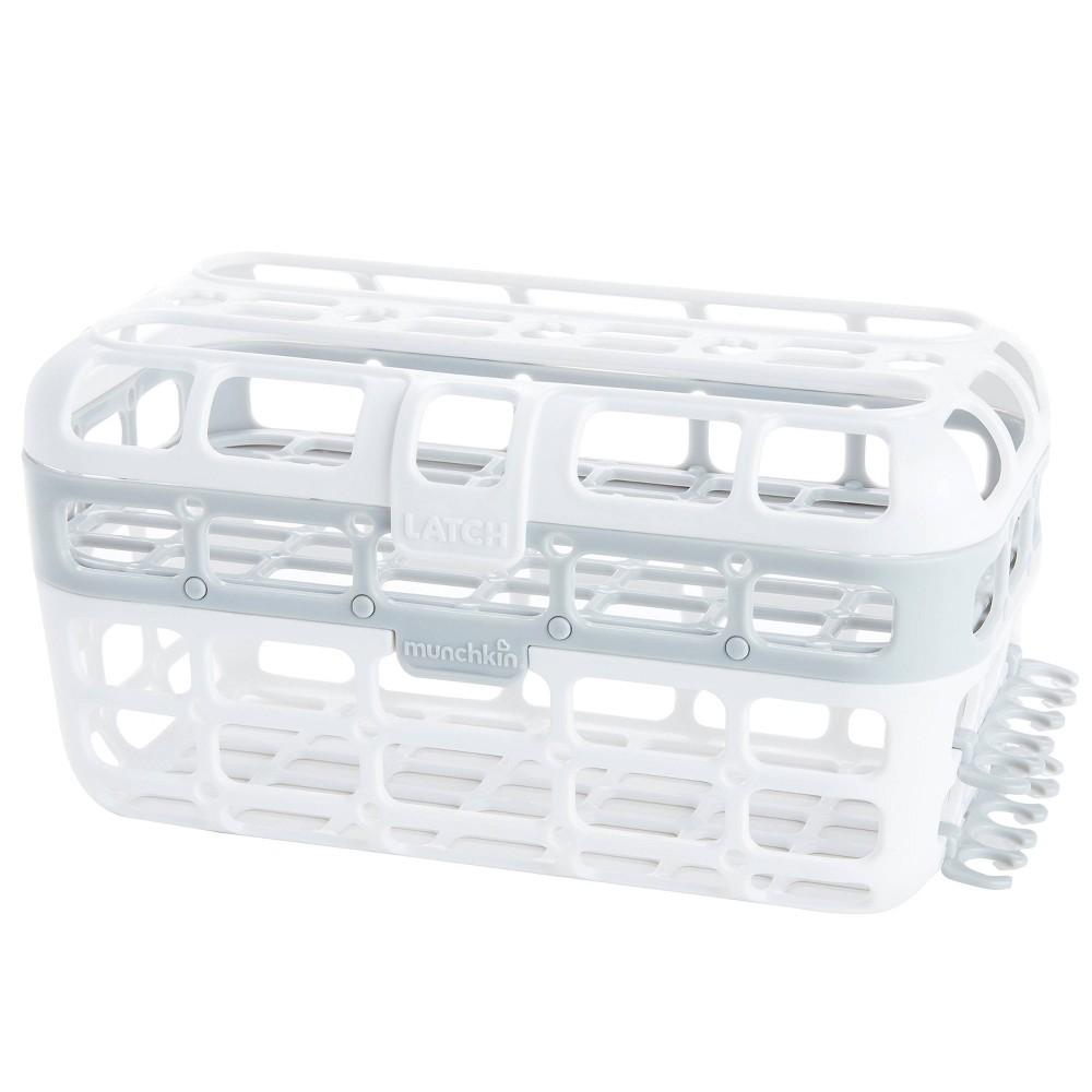Munchkin High Capacity Dishwasher Basket Gray