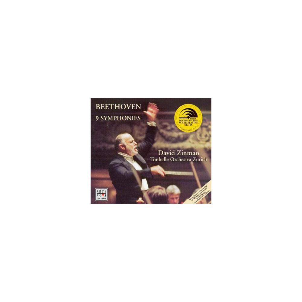 David Zinman - Beethoven: 9 Symphonies (CD)