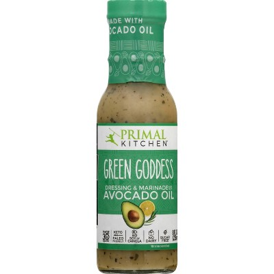 Primal Kitchen Dairy-Free Green Goddess Dressing with Avocado Oil - 8fl oz