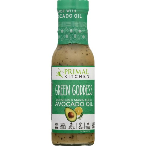 Primal Kitchen Dairy-Free Green Goddess Dressing with Avocado Oil - 8fl oz - image 1 of 4