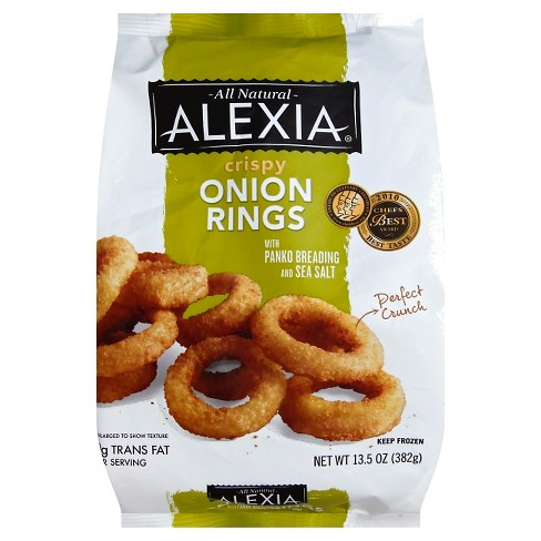 Alexia All Natural Frozen Crispy Onion Rings - 13.5oz - image 1 of 1