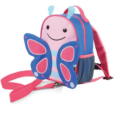 Skip Hop Zoo Little Kids' & Toddler Harness Backpack - Butterfly