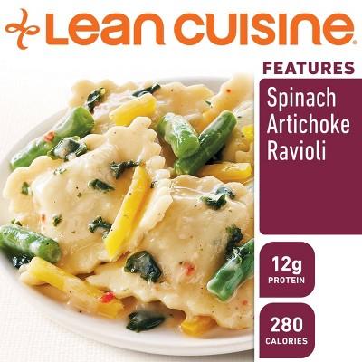 Lean Cuisine Marketplace Frozen Spinach Artichoke Ravioli - 9oz