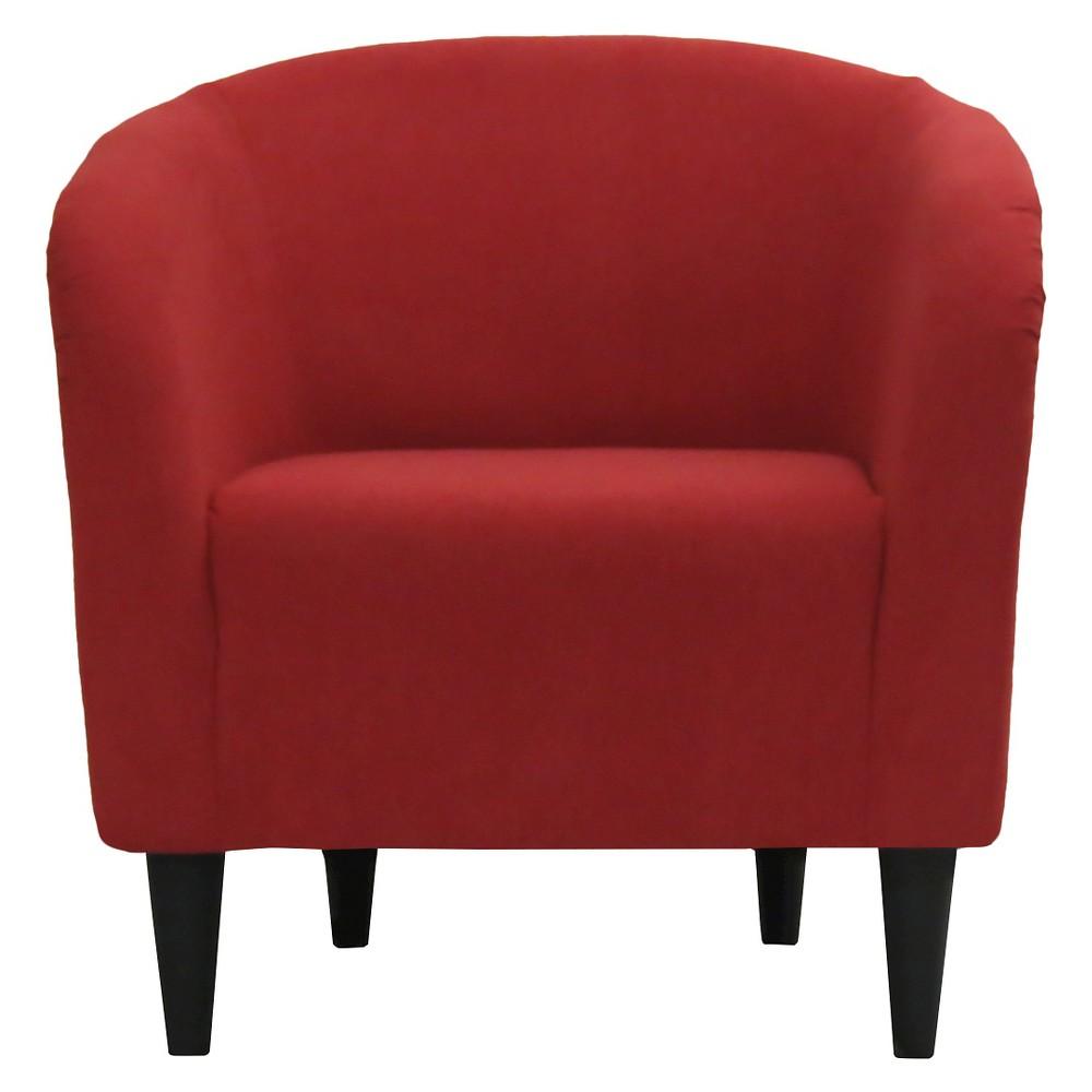 Accent Tub Chair Red - Pulaski