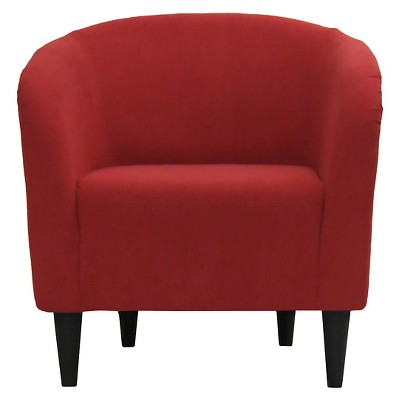 Accent Tub Chair Red   Pulaski : Target
