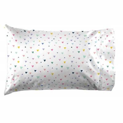 Saturday Park Triangles Pillow Case