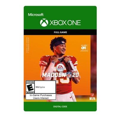 Madden NFL 20 - Xbox One (Digital)