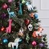 Unicorn Cloche Glass Christmas Ornament - Wondershop™ - image 2 of 2