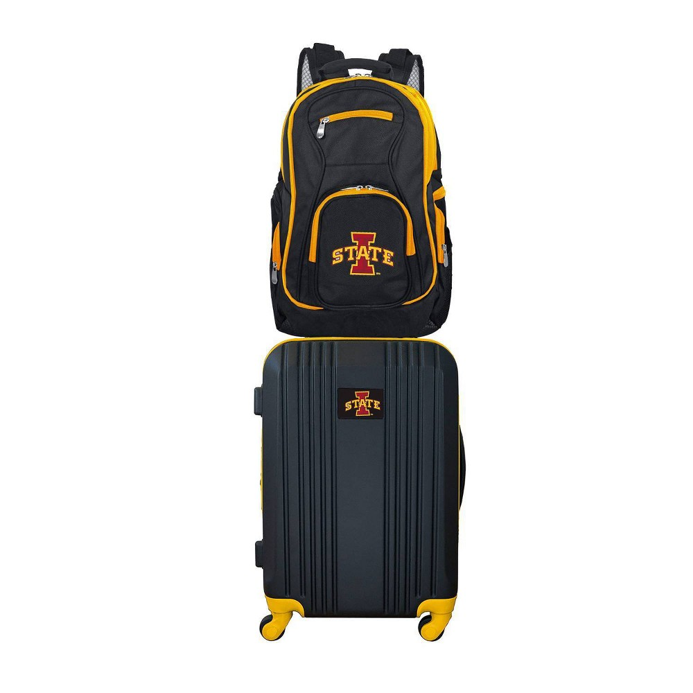 NCAA Iowa State Cyclones Premium 2pc Backpack & Carry-On Luggage Set