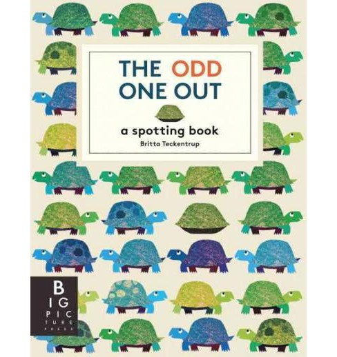 Odd One Out : A Spotting Book (School And Library) (Britta Teckentrup) - image 1 of 1