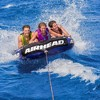 Airhead Super Slice Inflatable Triple Rider Towable Tube Water Raft | AHSSL-32 - image 4 of 4