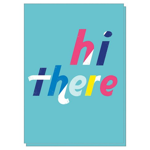 """Hi There"" Notecards - 10ct - image 1 of 1"