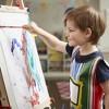Melissa & Doug Deluxe Standing Art Easel - Dry-Erase Board, Chalkboard, Paper Roller - image 2 of 4